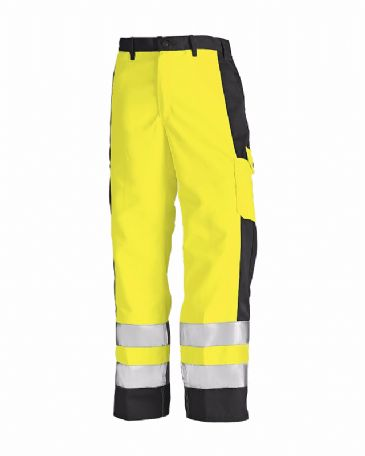 Blaklader 1583 High Visibility Trousers (Yellow/Black)